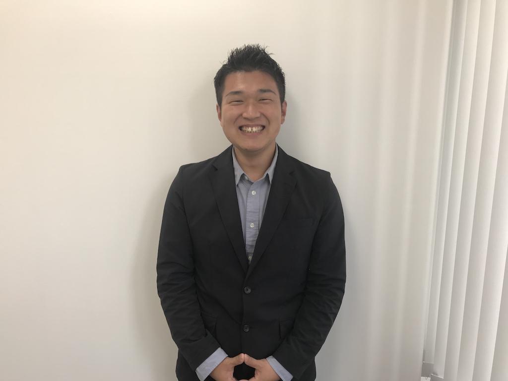 人事部長・柔道整復師 塩谷 健太