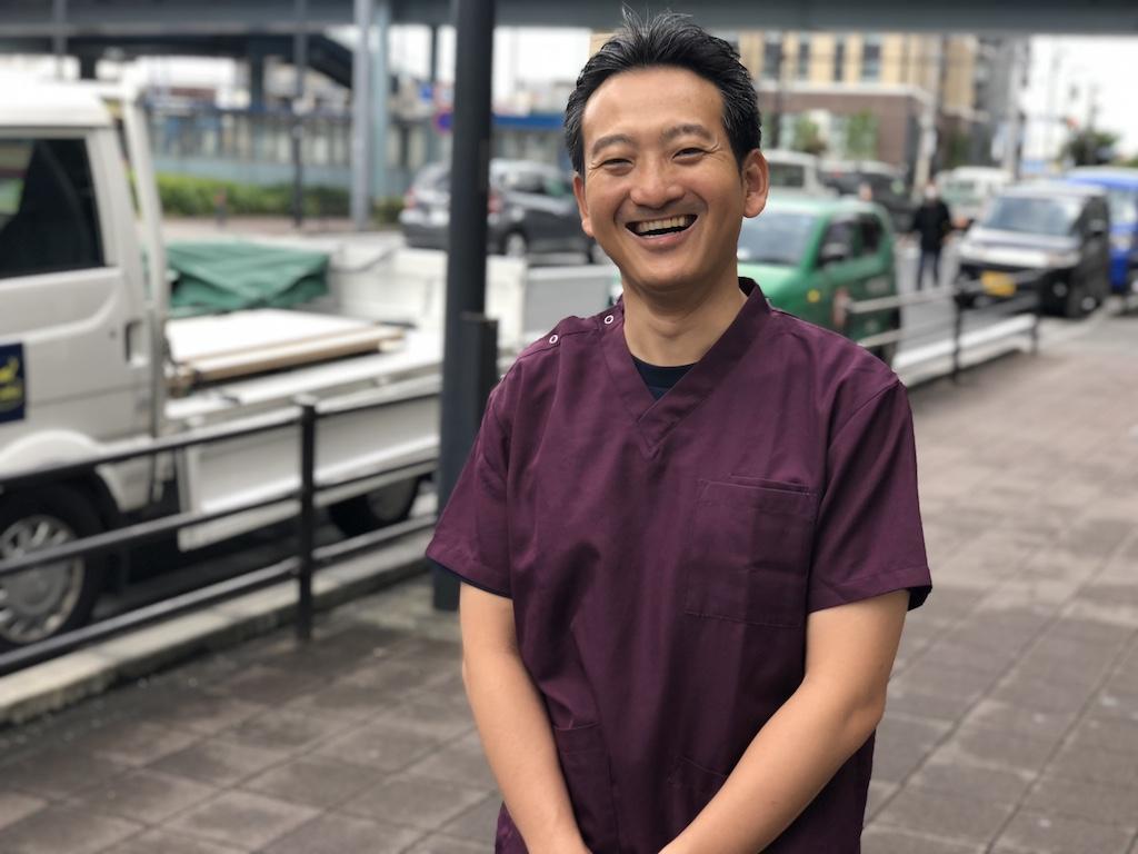 代表取締役・柔道整復師・鍼灸師 飯島 将太郎